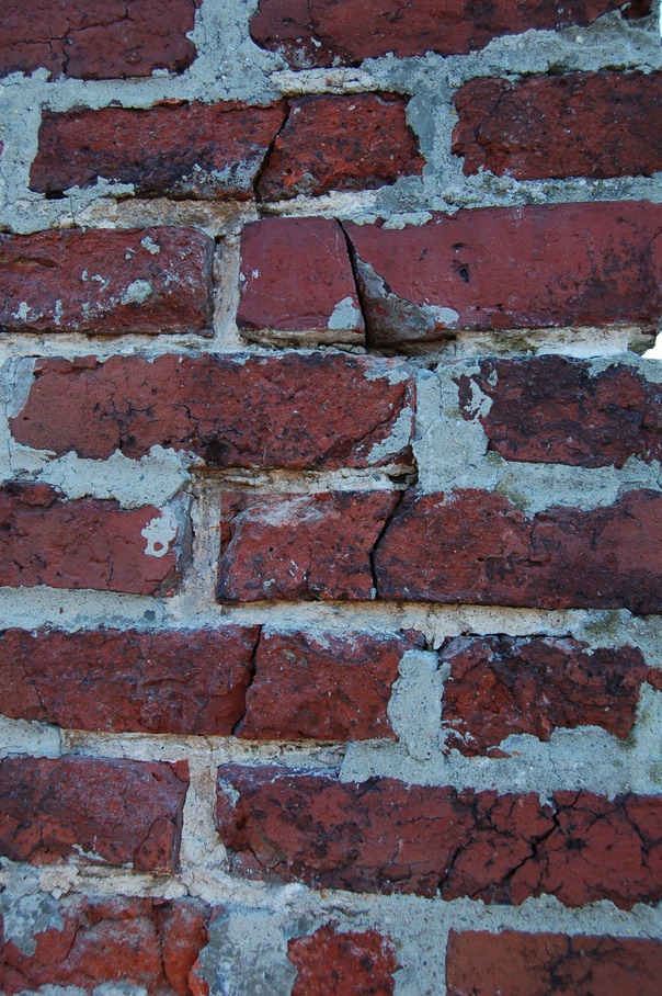brick damaged by portland cement