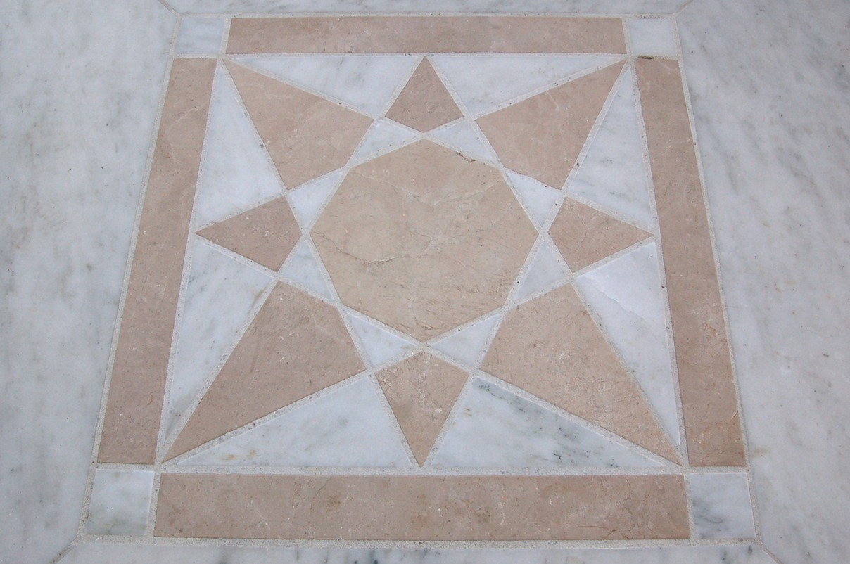 Marble inlay design